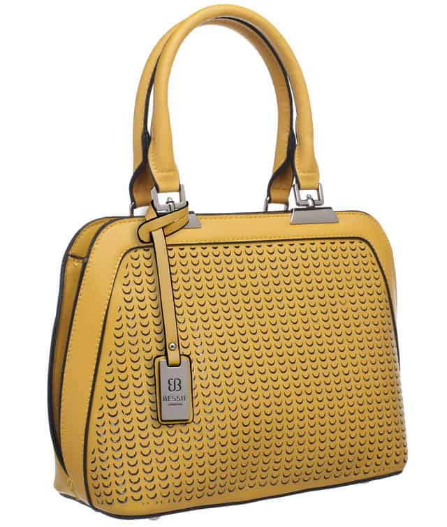 Shell Shaped Laser Cut Tote